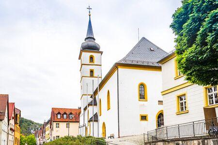 Pottenstein-Saint Bartholomew church- Franconian Switzerland, Germany