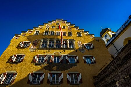 View on Kufstein Town hall, Tyrol - Austria