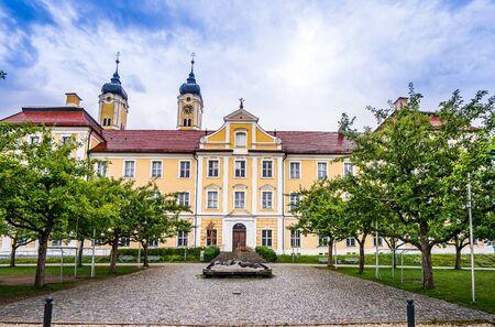 Monastery Roggenburg in Bavaria, Germany 免版税图像