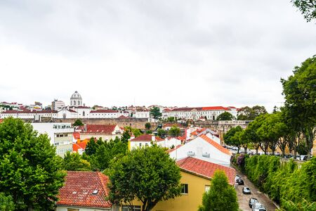 Beautiful cityscape of historic Coimbra, Portugal