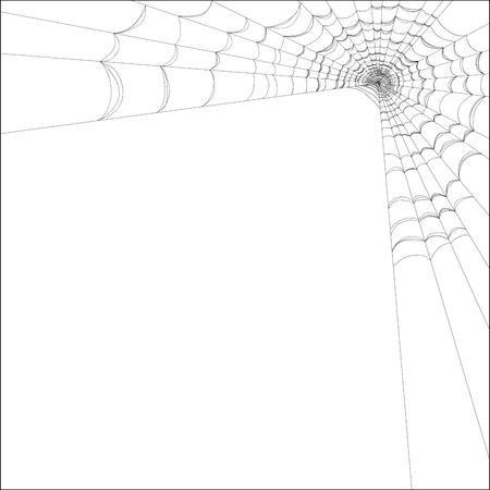 spider web: Created with adobe illustrator. It is a vector file scale it to any size.