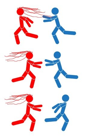Man and woman symbol illustration Vector