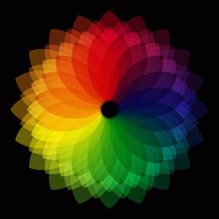 chromatic color: Abstract background Illustration