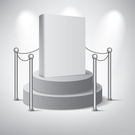 an exposition: Creato con adobe illustrator Si tratta di una scala di file vettoriale a qualsiasi dimensione Vettoriali
