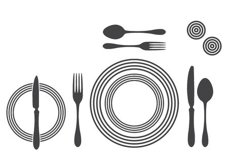 etiquette: Etiquette Proper Table Setting
