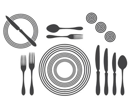 proper: Etiquette Table Setting corretta