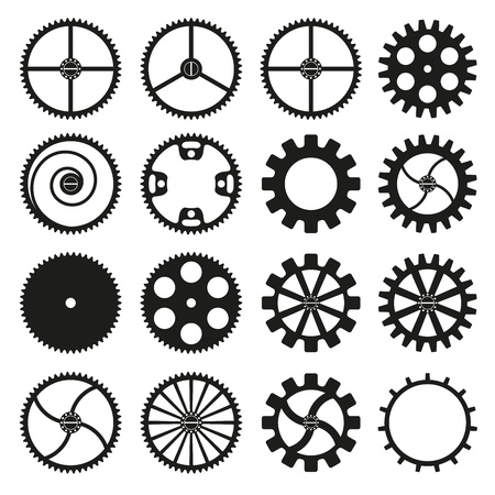 Gears icon Stock Vector - 18058495