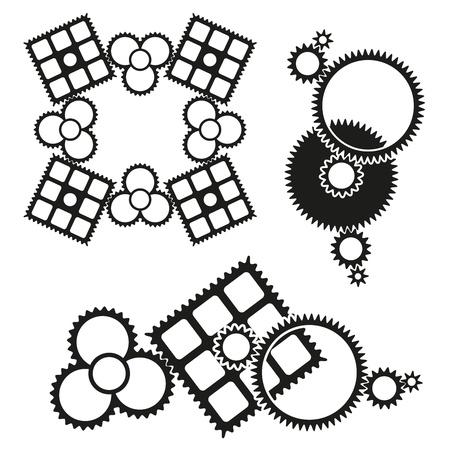 Gears icon Stock Vector - 18058497
