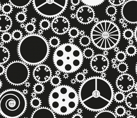 Gears icon Stock Vector - 18058494