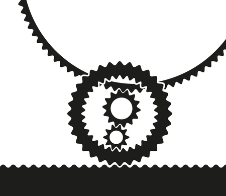work in progress: Gears icon