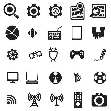 Universal web icons Stock Vector - 18239193