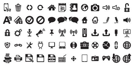 bussines: universal web icons set Illustration