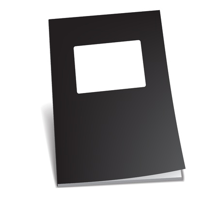 Empty brochure Vector