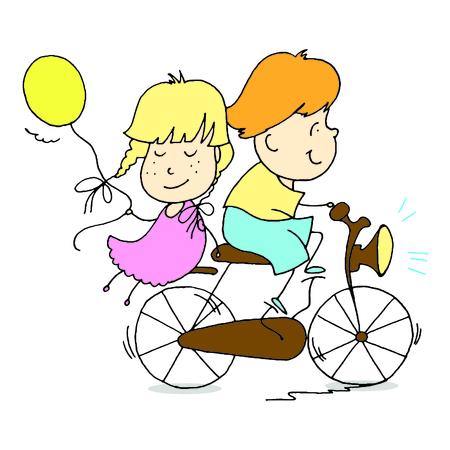 Jeune couple passe du temps ensemble. Design for valentines