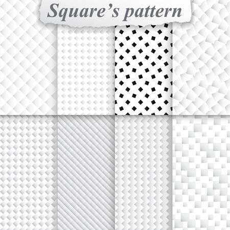 Texture square pattern vector seamless geometric texture