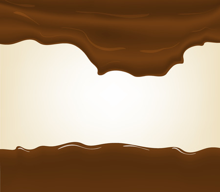 chocolate splash: Hot chocolate splash, isolated on white background.
