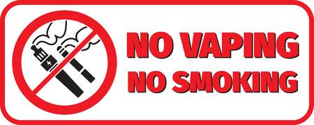 ne pas fumer vaping placard ne pas fumer
