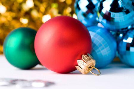 beautiful christmas color balls