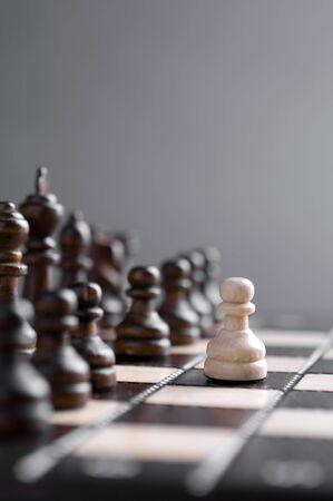 chellange: chess studio shot