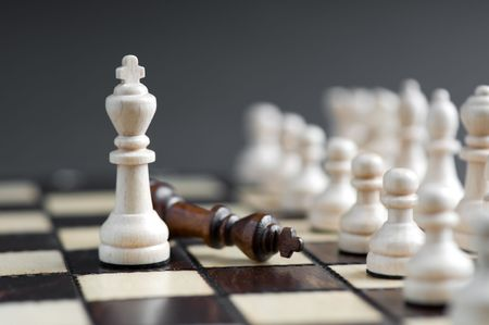 chess piece isolated background