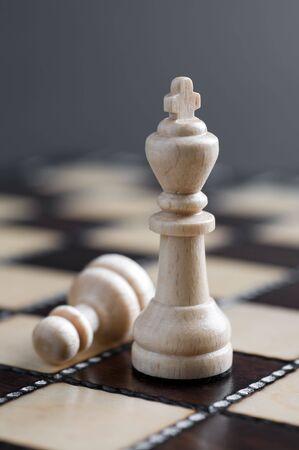 Two white chess