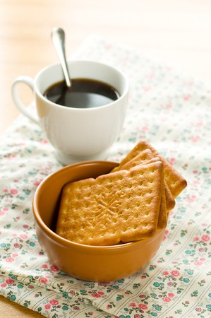 Cookies and coffee Stock Photo - 7638858