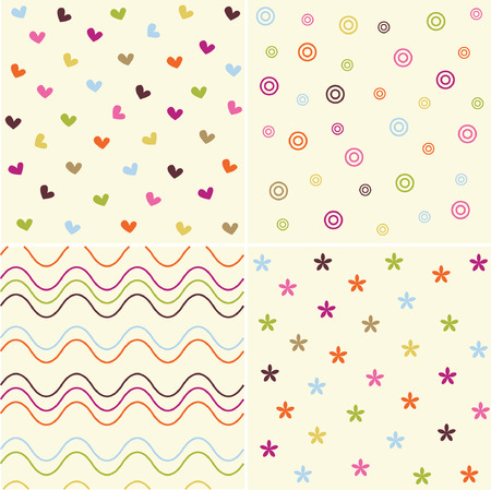 clumsy: cute pattern