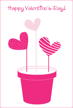 happy valentines day.vector card