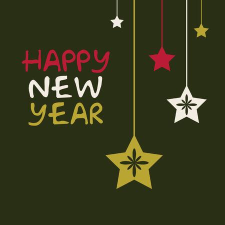 new year card Illustration