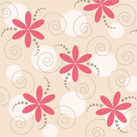 abstract floral background Stock Vector - 8120006