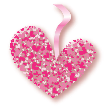 beautifull valentines vector card