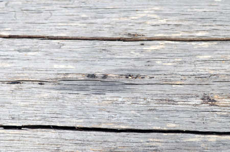 Closeup view of old wooden texture Stock Photo