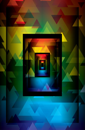 curvature: abstract background Illustration
