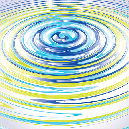 Abstract Vector Background  as water splash Illustration