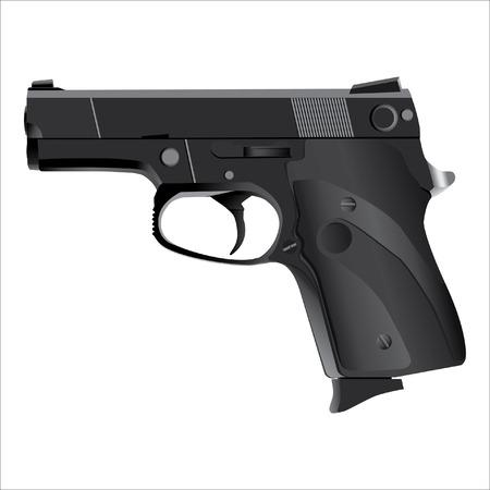 mano pistola: pistola, vettore Pistol