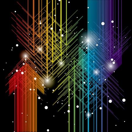 figuras abstractas: Fondo de vector abstracto Vectores
