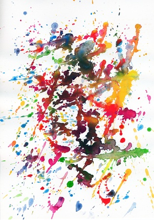 colorful abstract paint