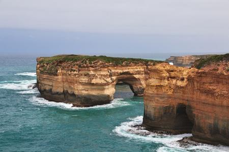 Great ocean road, Indian ocean, Australia 写真素材