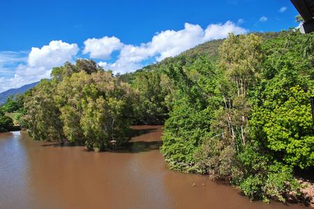 The village of the aborigines of Australia, Cairns