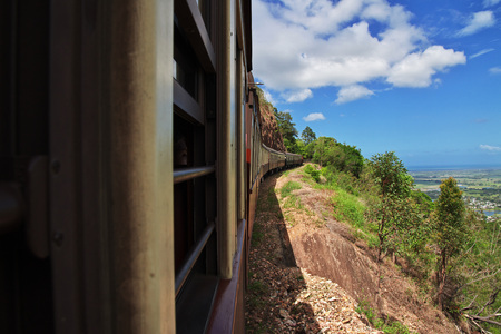 Railway in Mountains of Kuranda, Cairns, Australia