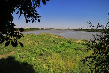 Khartoum city in Sudan, Africa Standard-Bild