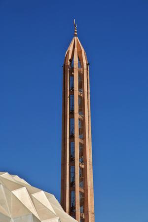 Minaret in district Omdurman in Khartoum, Sudan