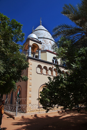 Mosque in Omdurman in Khartoum, Sudan Reklamní fotografie