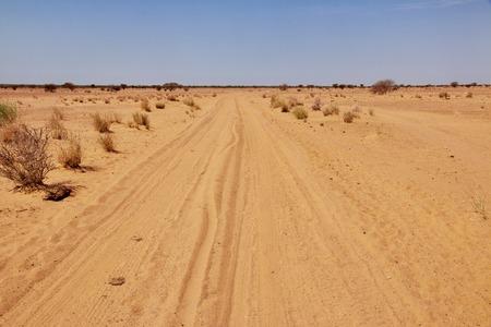 Desert Sahara in Sudan