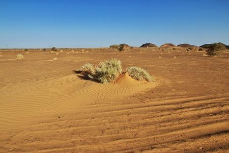 The ancient pyramids of Meroe in Sudan's desert