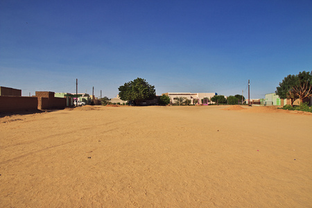The town of Karma in the Sudan, Africa