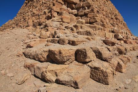 Ancient pyramids of Nuri, Sudan