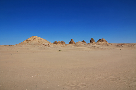 Ancient pyramids of Nuri, Sudan