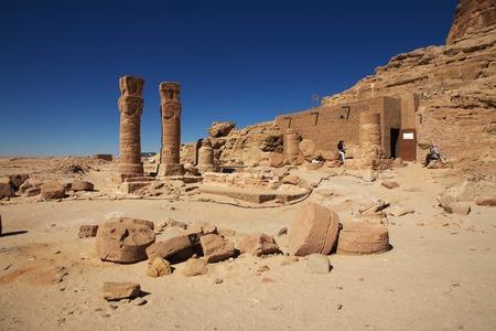 Antiguo templo del faraón en Sudán