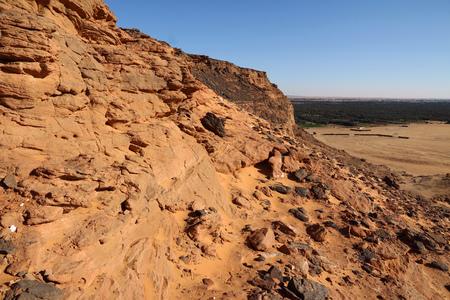 Jebel Barkal is sacred mountain in Sudan
